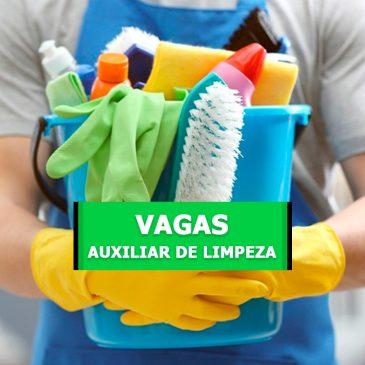 Auxiliar de Limpeza – Cambuí
